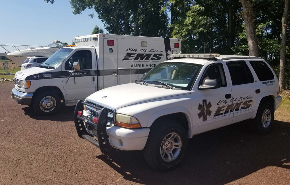 City of Salem EMS vehicles
