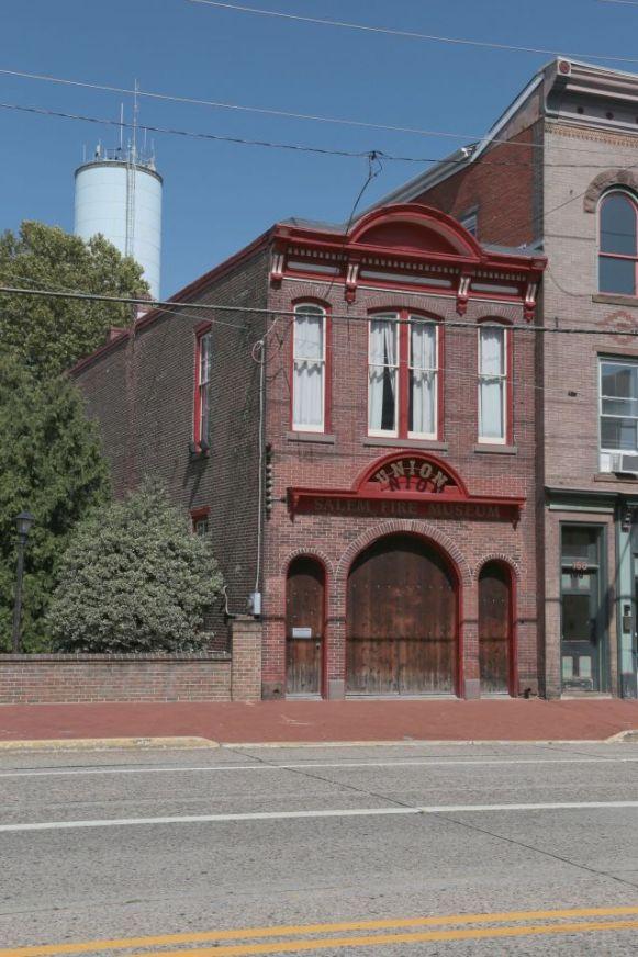Front of Salem Fire Museum building