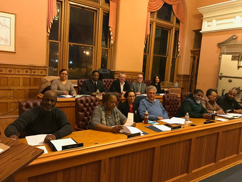 City council sitting in session